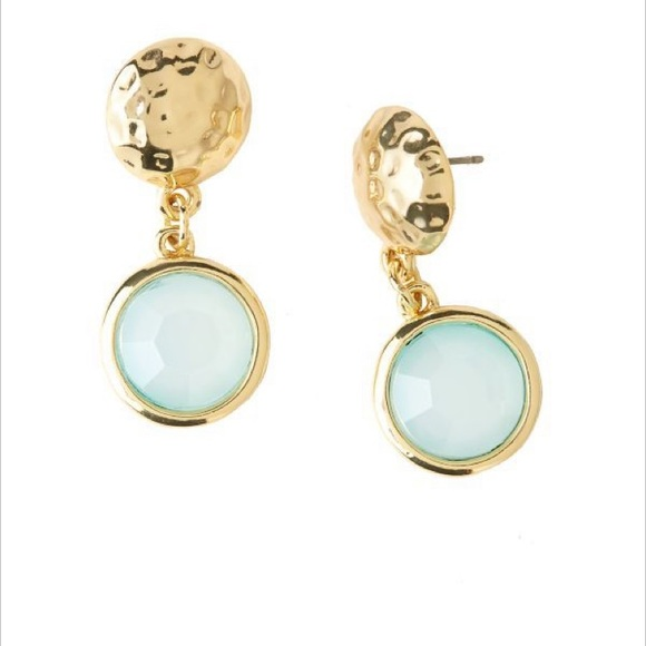 Lilly Pulitzer Jewelry - Lilly Pulitzer Spot on Earrings Shorely Blue